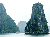 Halong Bay Cliffs