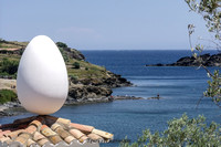 Dali Egg at the Ocean